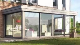 veranda en aluminium - WEISZ