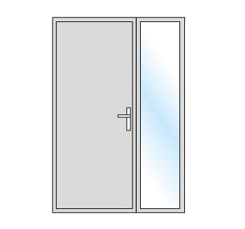 Les portes d'entrée, portes blindées