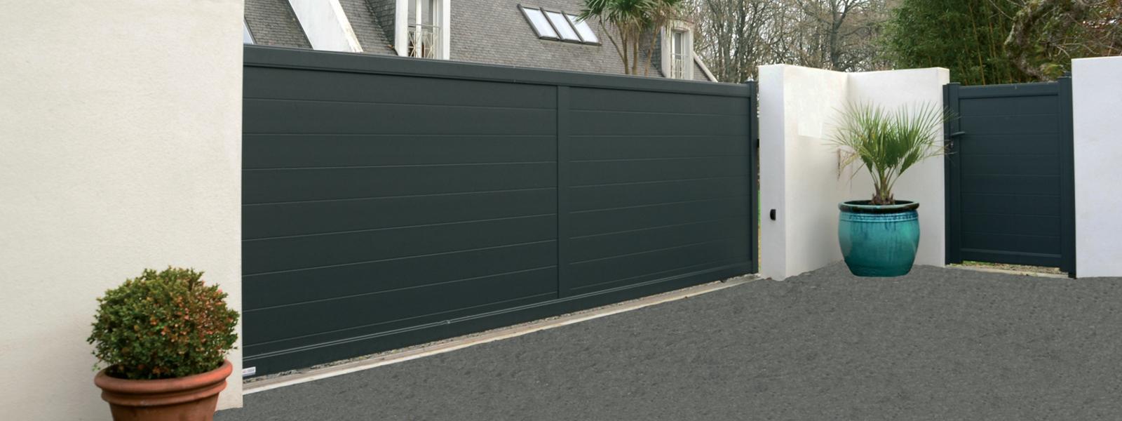 Les portails, portillons & clôtures