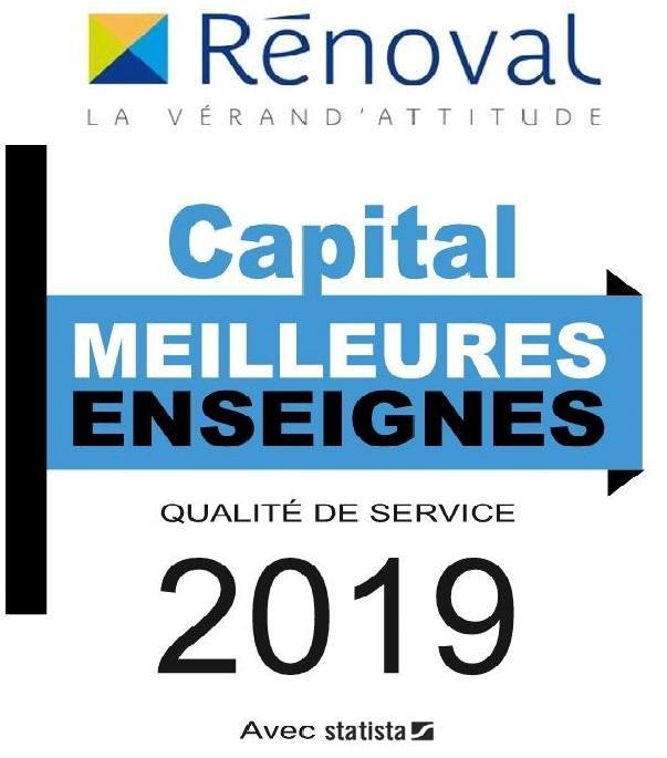 Rénoval Vérandas – Élue meilleure enseigne en 2019