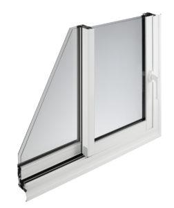 Détail fenêtre alu - WEISZ