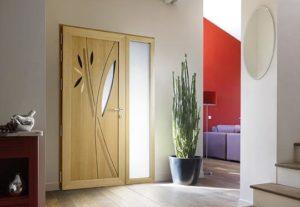 Porte mixte bois-alu - confort - Weisz
