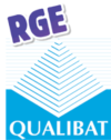 Logo RGE - Weisz