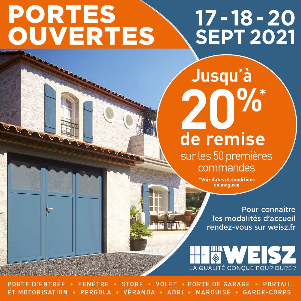 Portes Ouvertes Weisz les 17, 18 et 20 septembre à Clamart