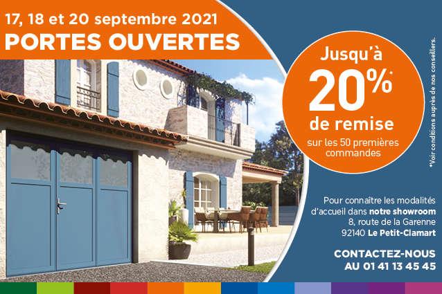 Portes Ouvertes WEISZ le 17 18 et 20 septembre 2021 - 20% de remise