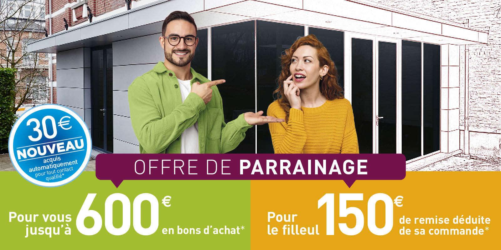 Programme parrainage WEISZ - jusqu'à 600 €